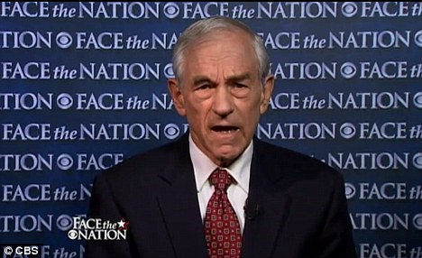 Party's hero: Ron Paul says he's staying in the race for the Republican nomination while reasoning that he's trying to save the Republican Party from themselves