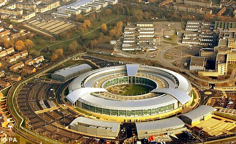 Under new plans, GCHQ (pictured) would be able to track the communications of everyone in the UK