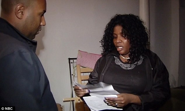 Proof? Mirlande Wilson showed a reporter the copies of the pooled tickets she shared with her McDonald's employees and said the winning ticket was not among them - though would not say where it was