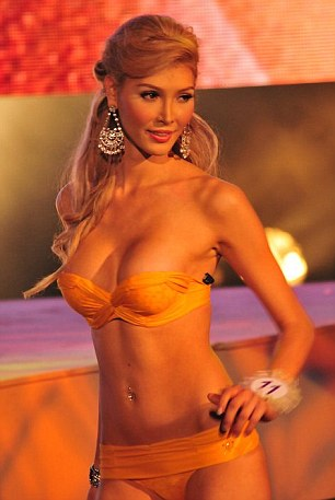 Suspicious: Ms Talackova was kicked out of the competition after organisers became suspicious she was not 'naturally born female'