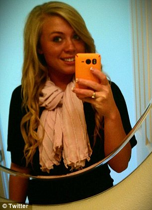 Sunny Oglesby, girlfriend of Levi Johnston