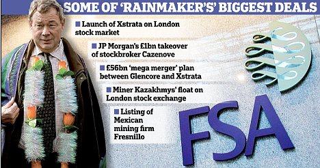 Ian Hannam: Some of 'rainmaker's' biggest deals