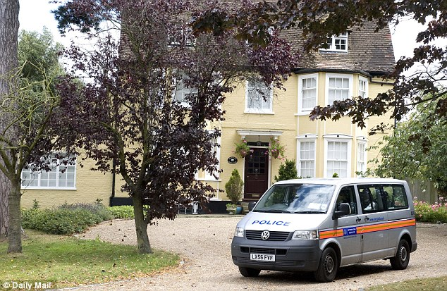 Grand: Prosecutor Sandy Canavan told the court Laura Johnson had gone to a grammar school, had a nice background, was an Exeter University student and lives in this house in Orpington, Kent