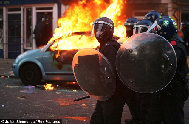 Carnage: Laura Johnson chauffeured Emmanuel Okubote and his friends for seven hours as they embarked on a looting rampage in the London riots