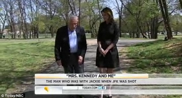 Struggle: Hill told the Today show that he well into a deep depression following the assassination
