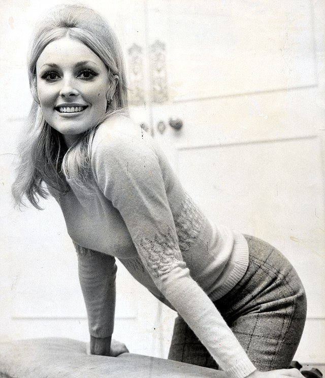 Killed: Sharon Tate was murdered by Charles Manson and his cult followers in 1969. She was almost nine months pregnant