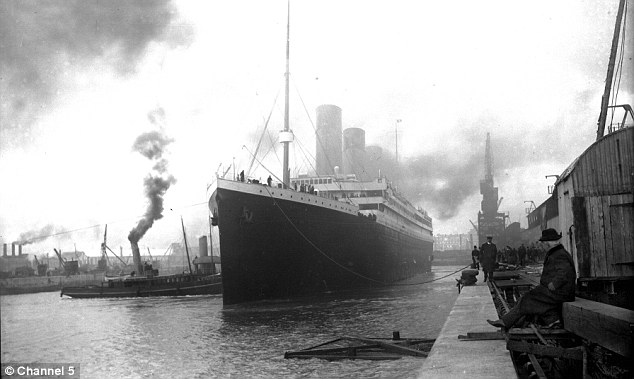 Fateful: The Titanic set sail from Southampton on April 10, 1912 on her maiden voyage to New York