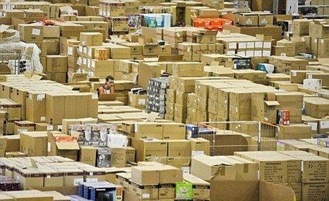 The company which ships thousands of packages a week recently moved to Luxembourg for tax relief purposes