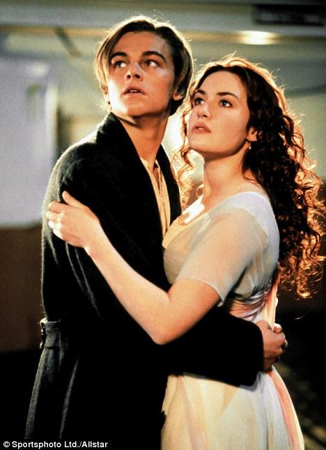 Back on the big screen: Leonardo Di Caprio as Jack Dawson and Kate Winslet as Rose DeWitt Bukater in Titanic