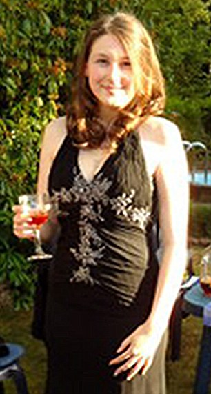Former grammar school prefect Laura Johnson, then 19, had a bright future in front of herself