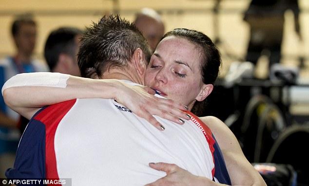 Joy and relief: Pendleton celebrates her gold