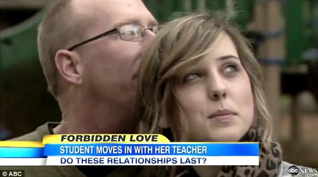 Troubling: He first made national headlines for his relationship with student Jordan Powers, 18. The arrest relates to the alleged sexual abuse of a different student at a separate school in 1998
