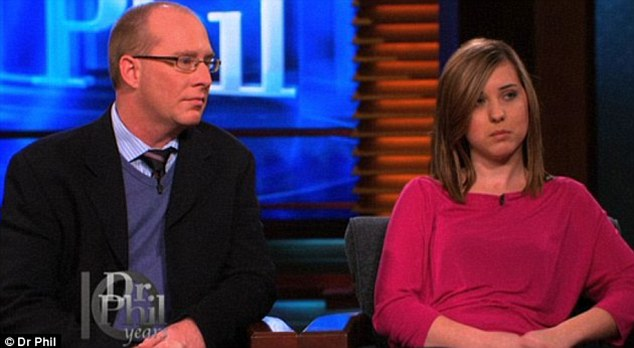 Loving couple? Hooker and Powers said they are only doing what makes them happy on Dr Phil