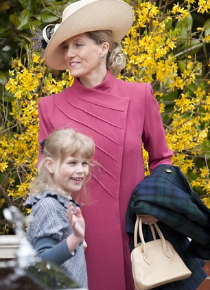 Sophie, The Countess of Wessex and daughter Lady Louise