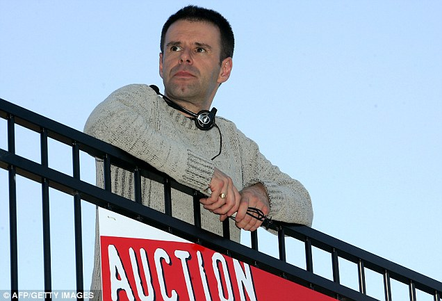 For sale: Ian Usher auctioning his entire life on eBay in Perth, Australia, four years ago