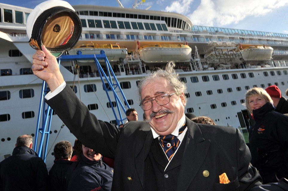 Stopoff: James A Flood from Florida  disembarks from The Balmoral in Cobh yesterday on what is one of the most talked about cruises