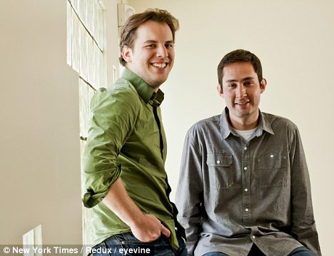 Founders: But will Mike Krieger and Kevin Systrom see their brainchild closed down by its new proprietor?