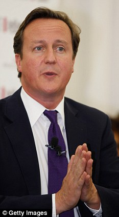 David Cameron: 'The values of the Bible are the values we need'