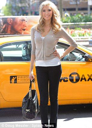 Jenna Talackova in Manhattan