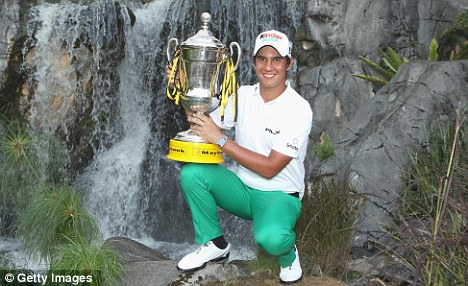 Two good: Italian youngster Matteo Manassero held his nerve to clinch his second European Tour title at the 2011 Maybank Malaysian Open
