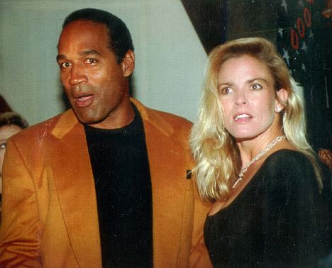 Prody, who bares a striking resemblance to the murdered Nicole Brown Simpson, pictured here, had a tumultuous relationship with OJ. Since their split, and his incarceration on armed robbery, she has said she believes OJ killed his wife