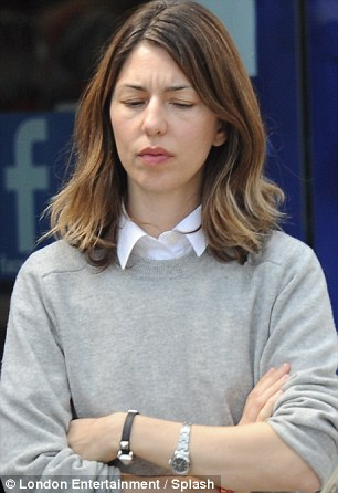 Is it coming together? Director Sofia Coppola looked a little stressed as she ordered everyone around on set