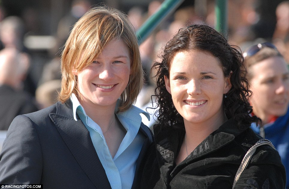 Future's bright: Katie Walsh, right and her sister-in-law Nina Carberry may not have won The National, but their chance could well come, according to Walsh's father Ted
