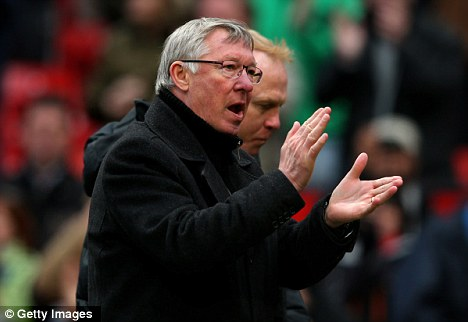 Correct: Manchester United manager Sir Alex Ferguson says the decision to award Manchester United a penalty was the right one