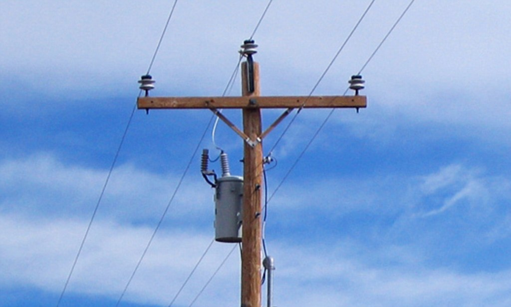 Telephone Pole and Wires - Bing images