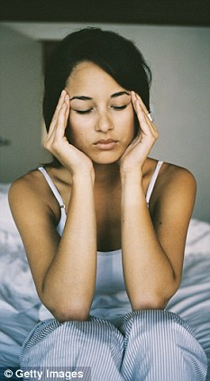 Headache? Reaching for painkillers isn't always the answer (posed by model)