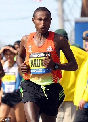 Geoffrey Mutai, of Kenya