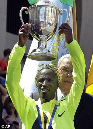 Wesley Korir of Kenya