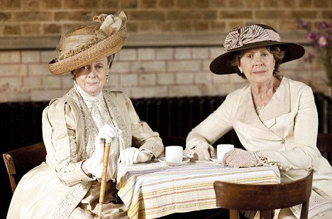 Countess Dowager on the arrival of the soldiers: 'It's like living in a second-rate hotel, where the guests keep arriving, and no one seems to leave.'