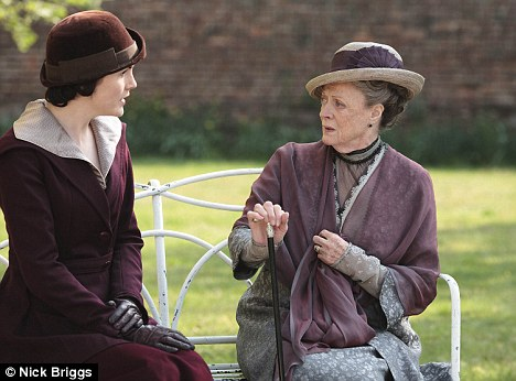 Dame Maggie Smith's withering put-downs as the Countess Dowager are a big reason for the success of Downton Abbey