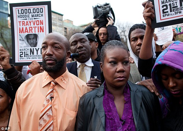Justice: Trayvon's parents have been at the forefront of the movement to prosecute Zimmerman