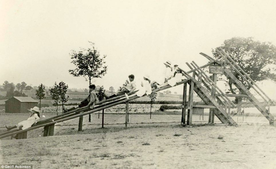 Slide revolution: Charles Wicksteed,  initially made slides for his park, then went on to manufacture and sell them around the world