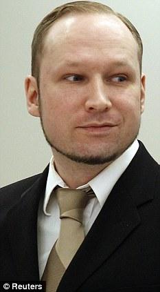 Psychopathic? Anders Breivik is presently on trial in Norway for mass murder