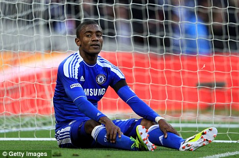 Revitalised: Kalou has regained his form under Roberto Di Matteo