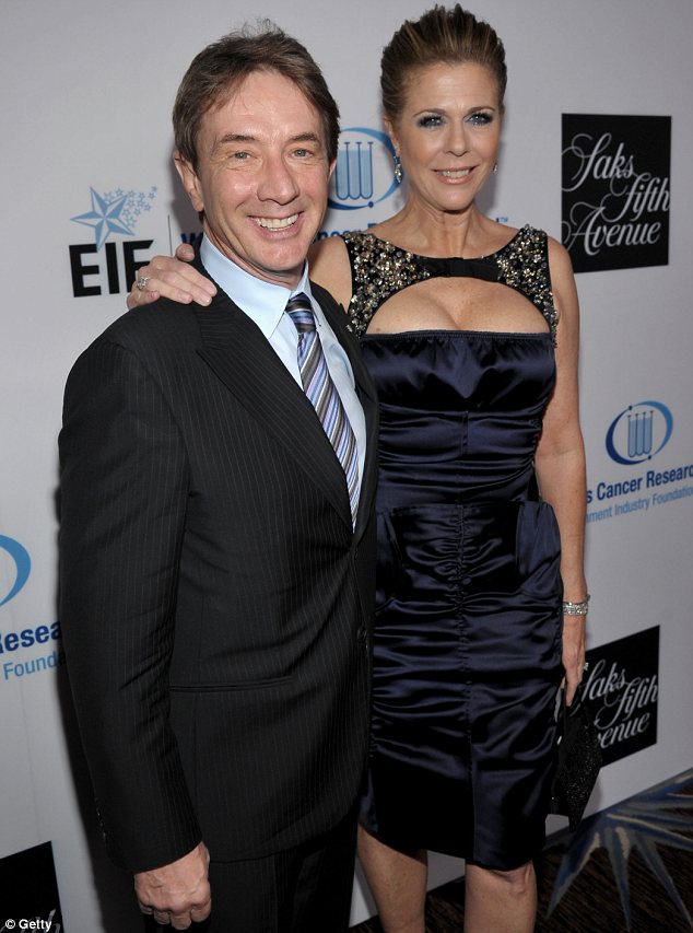 Picture partners: The 55-year-old actress-turned-singer posed up with actor Michael Short at the event held at the Beverly Hilton Hotel