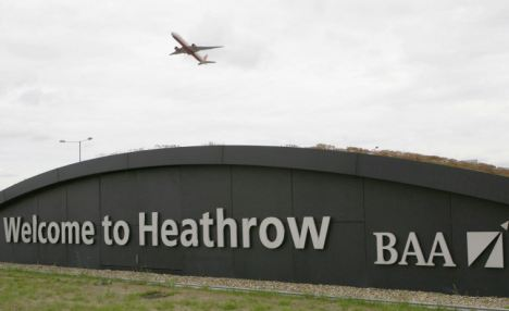The men, from Birmingham, were detained at Heathrow Airport last night after arriving on a flight from Oman