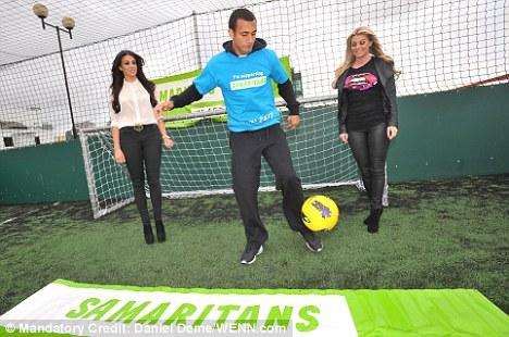 Support: Anton Ferdinand spoke to Sportsmail on behalf of the Samaritans