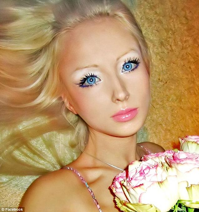 Barbie: 21-year-old Valeria Lukyanova, from Russia, describes herself as the most famous Russian woman on the Russian-language internet