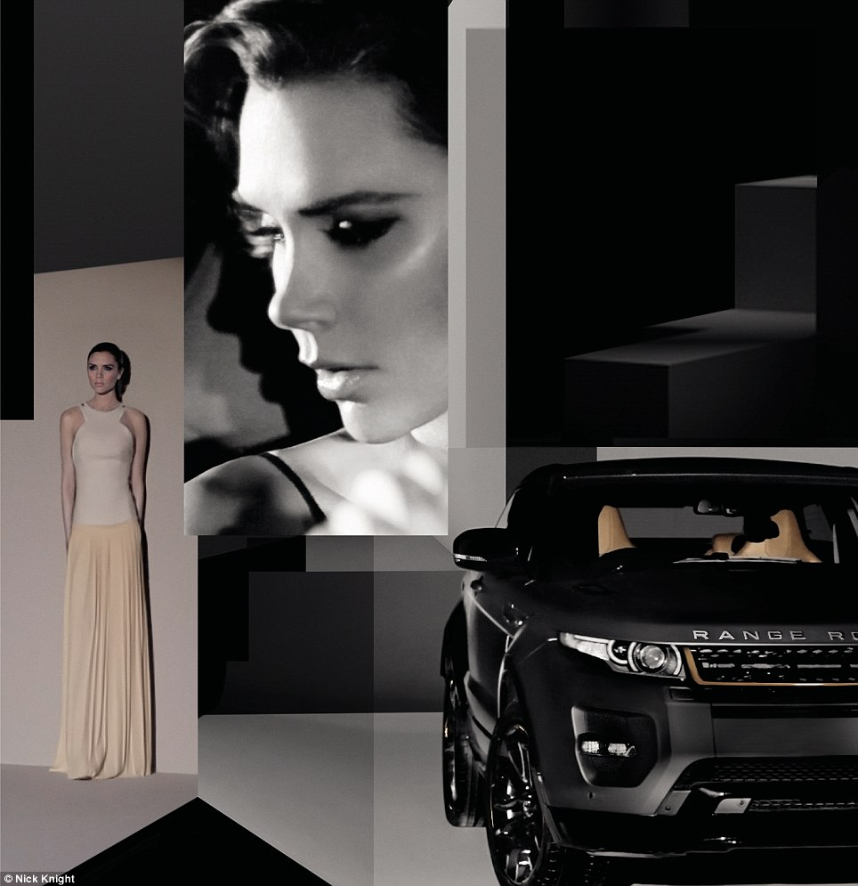 Prime product: Land Rover said the Beckham name is a significant brand across the world and especially  in booming new markets like China, India, Russia and Brazil
