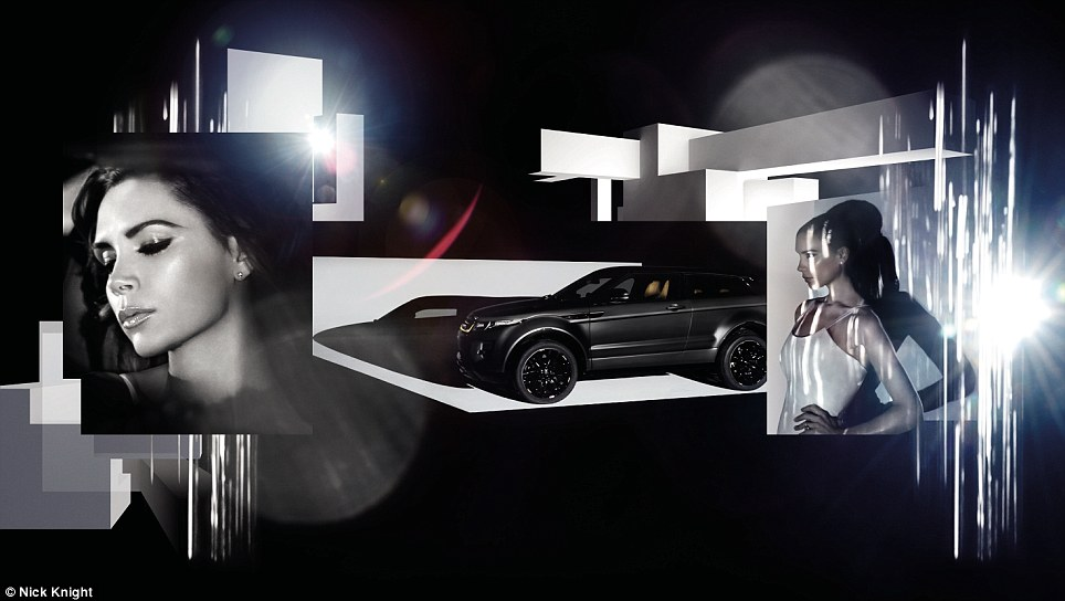 Be like Posh! The £80,000 Range Rover Evoque aims to woo the super-rich and growing middle class in Communist China, were the first models will be sold