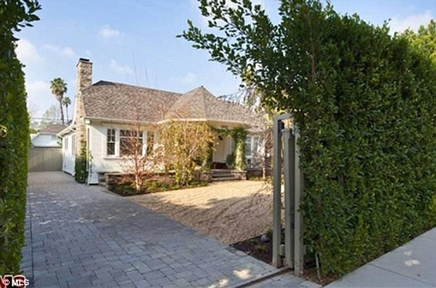 Modest new digs: Lea Michele purchased her first home in Los Angeles for $1.4 million