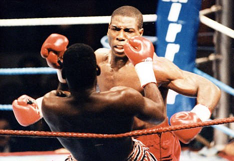 Undefeated: Bruno won all 15 of his fights at the Hall