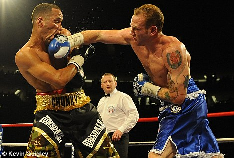Mystery injury: Groves (right) has pulled out of another fight