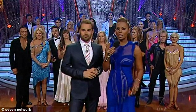 'Classless and offers nothing': Mel B has been slated over her presenting skills on Dancing With The Stars Australia