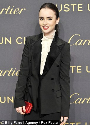 Rising and returning stars: Mirror Mirror star Lily Collins is taking centre stage at number four, while Revenge actress Madeleine Stowe has made a return to the spotlight