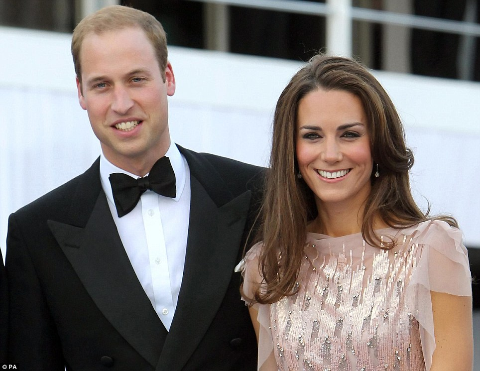 The Duke and Duchess of Cambridge made a dazzling entrance at the 10th annual Absolute Return for Kids (Ark) Gala Dinner at Kensington Palace